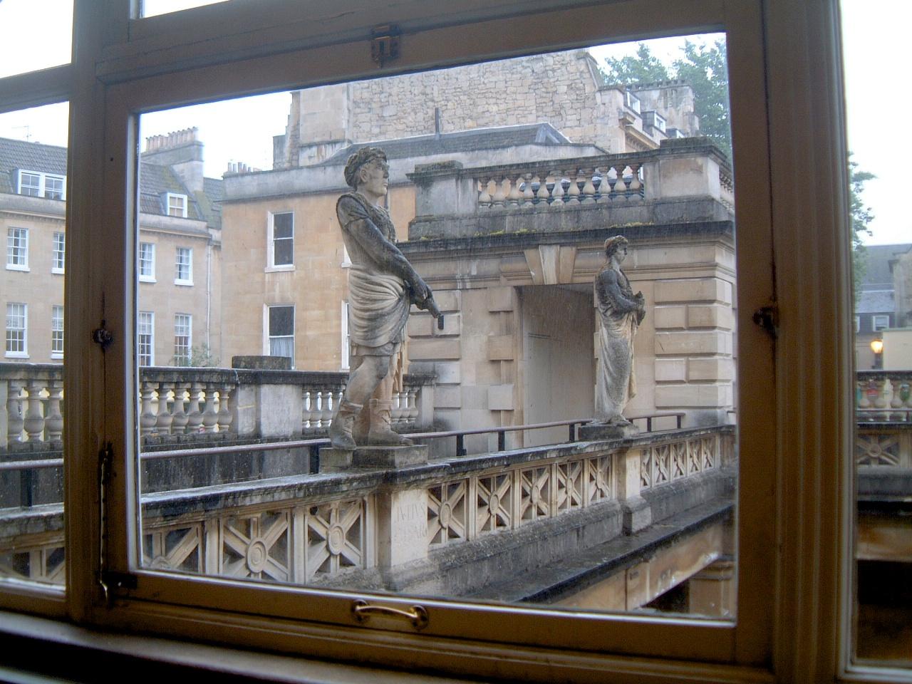 Above the Roman Baths