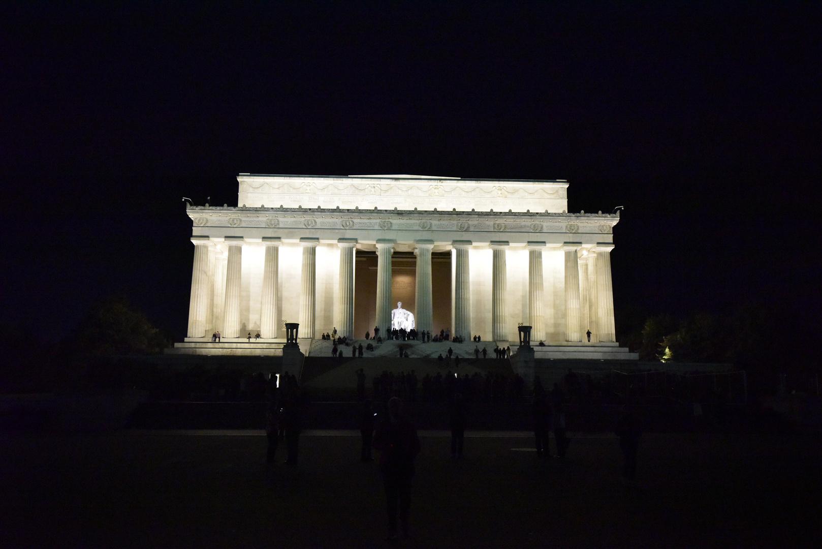 ;Abraham Lincoln en una noche otoñal