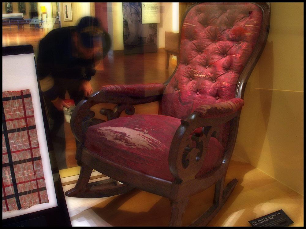 Abraham Lincoln's Assasination Chair