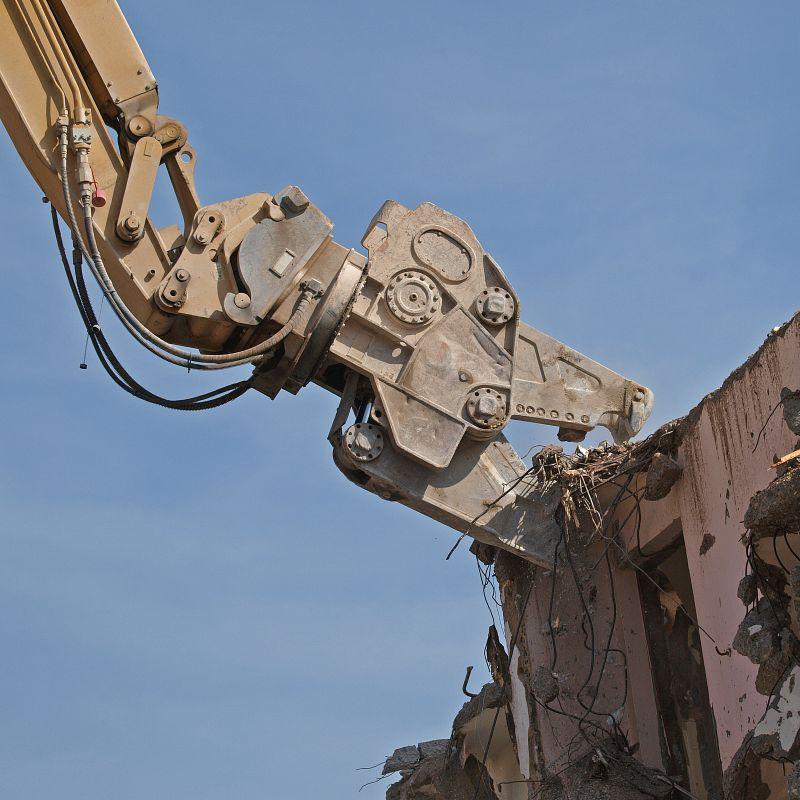 Abriss eines Wohnhauses II