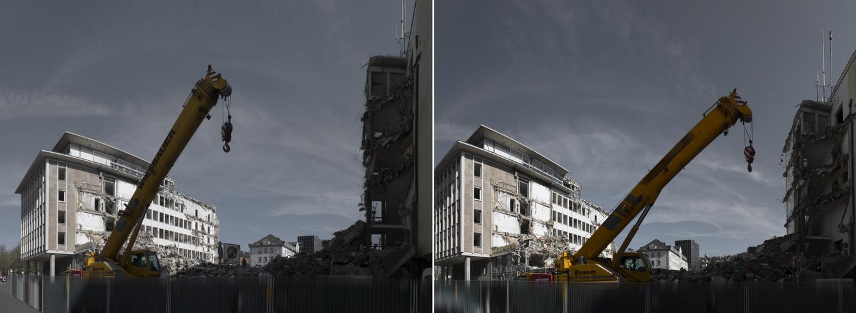 Abriss, oder Ende einer Architektur