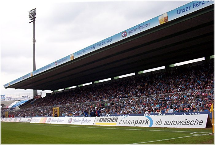 Abschied aus dem Grünwalder Stadion