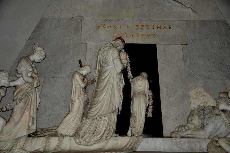 Abschied -Grabmal Erzherzogin Maria Christina