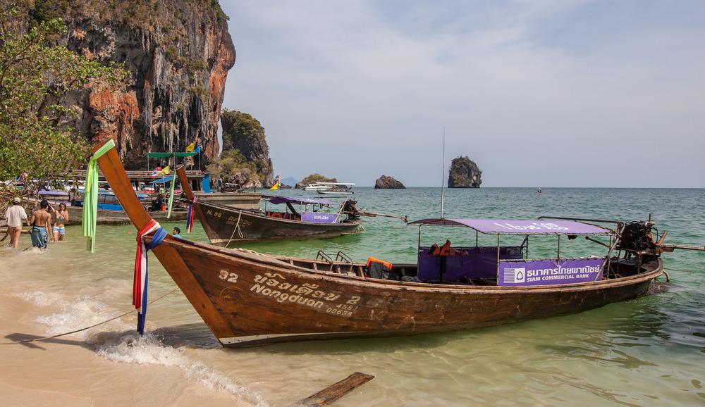 Abschied vom Pha-Nang Beach