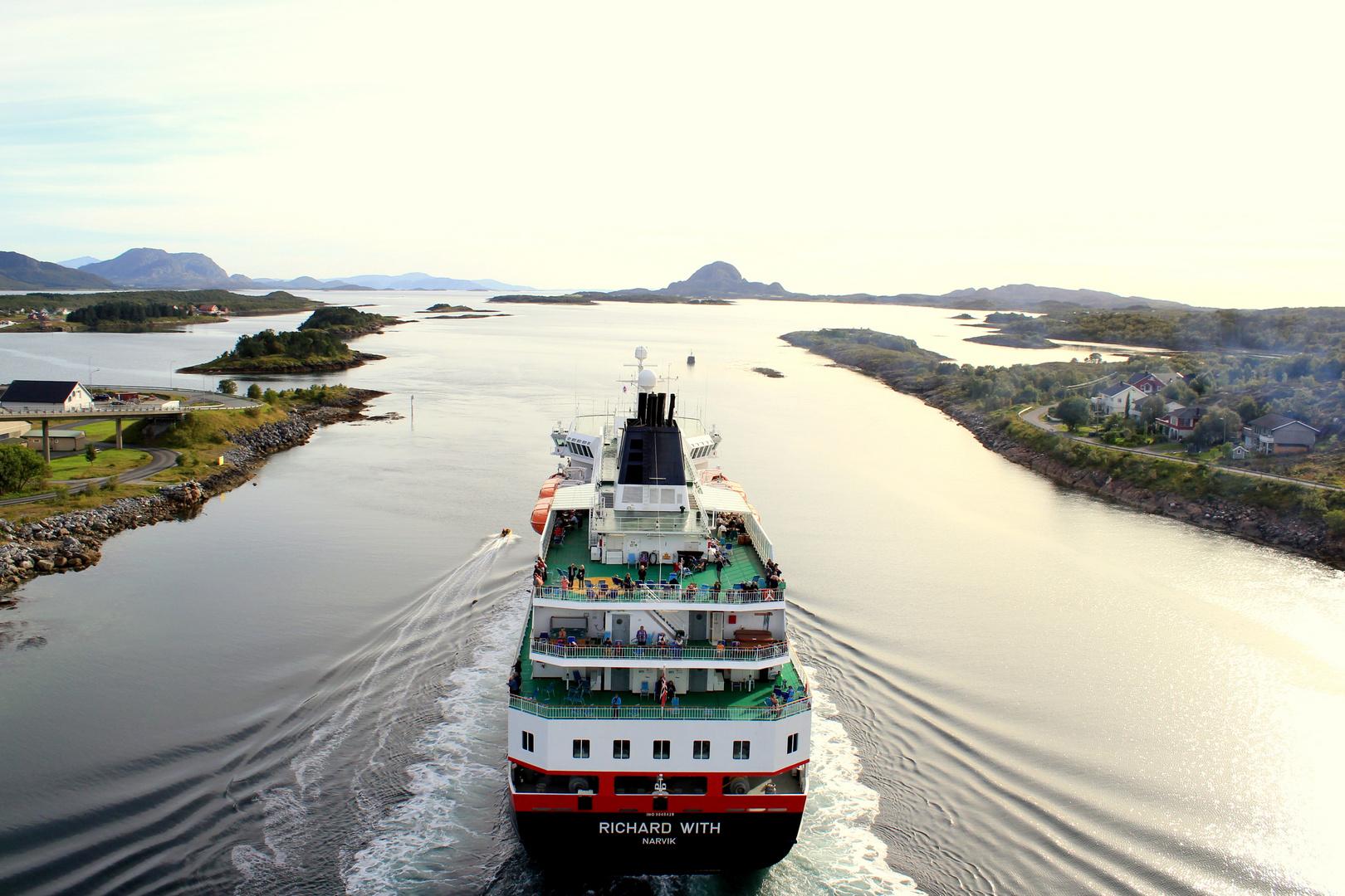 Abschied von Brønnøysund