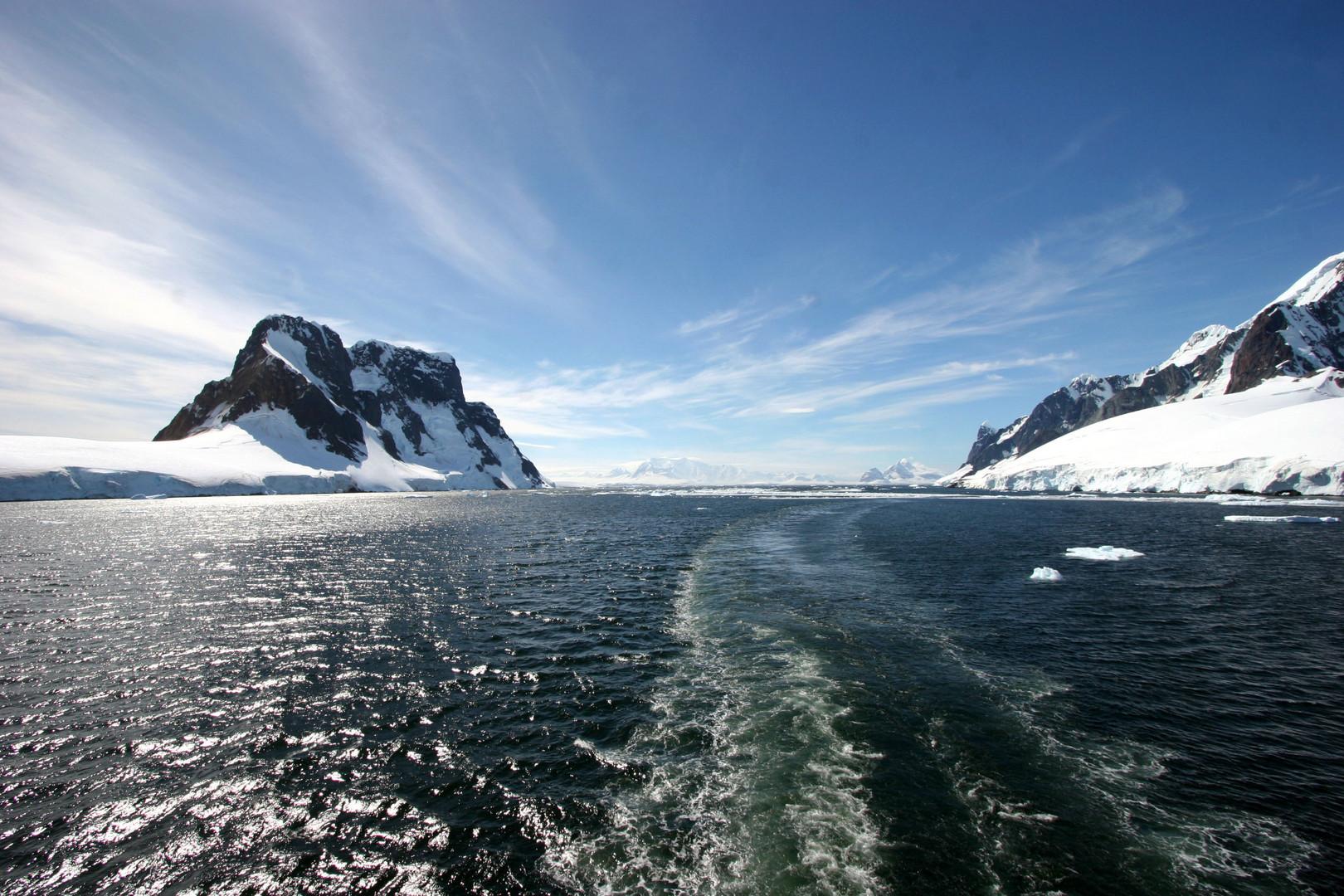 Abschied von der Antarktis