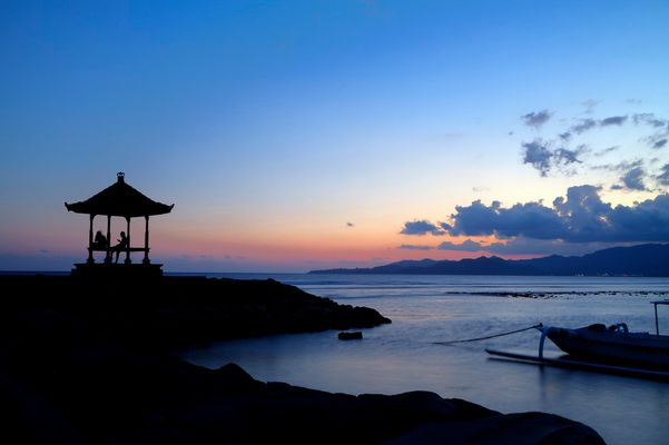 Abschiedsstimmung in Bali
