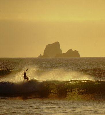 Abschluss eines perfekten Surftages...