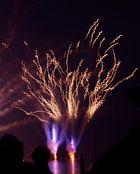 Abschuss Feuerwerk