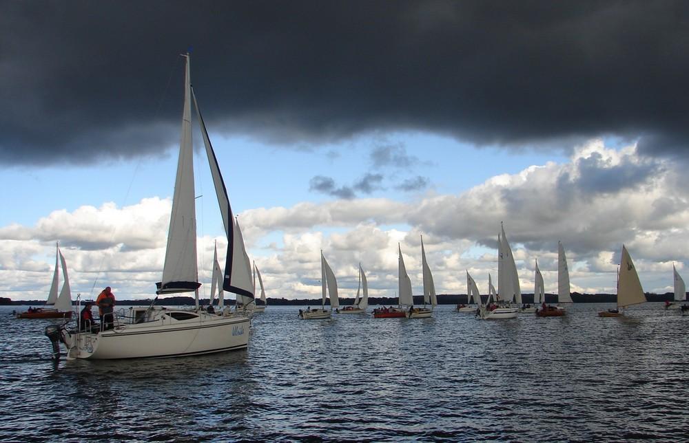 Absegeln 2009 auf dem Schweriner See