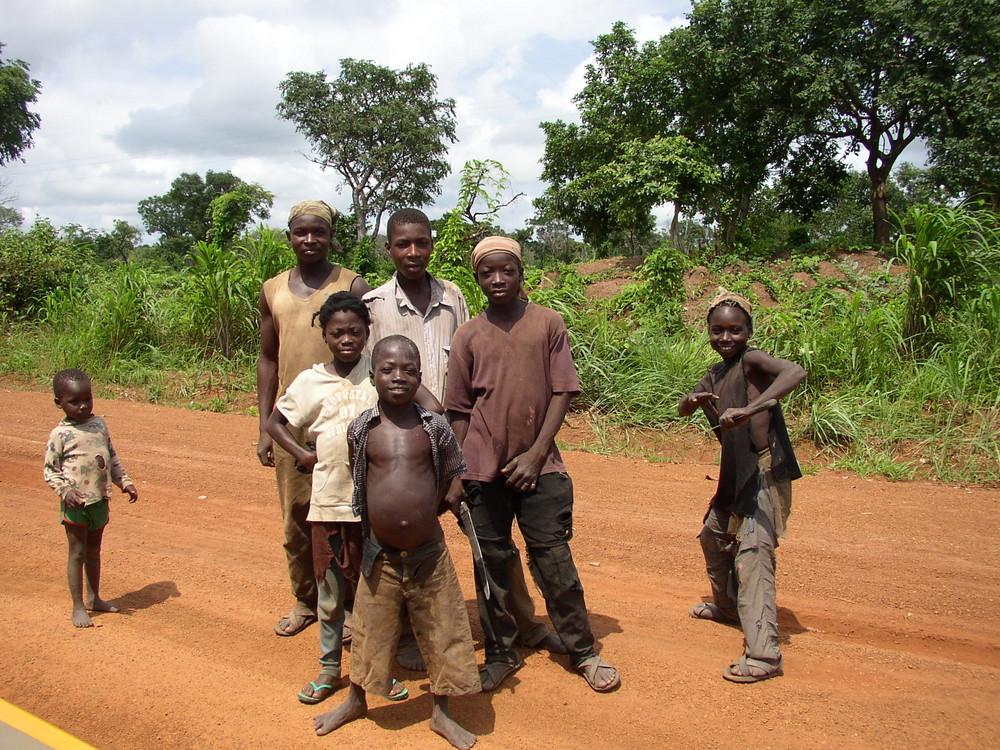 abseits vom Weg in Ghana
