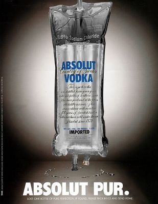 ABSOLUT PUR.