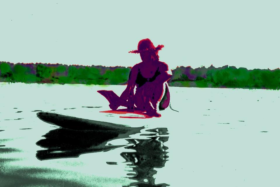 Absolute Stille - Surfen einmal anders