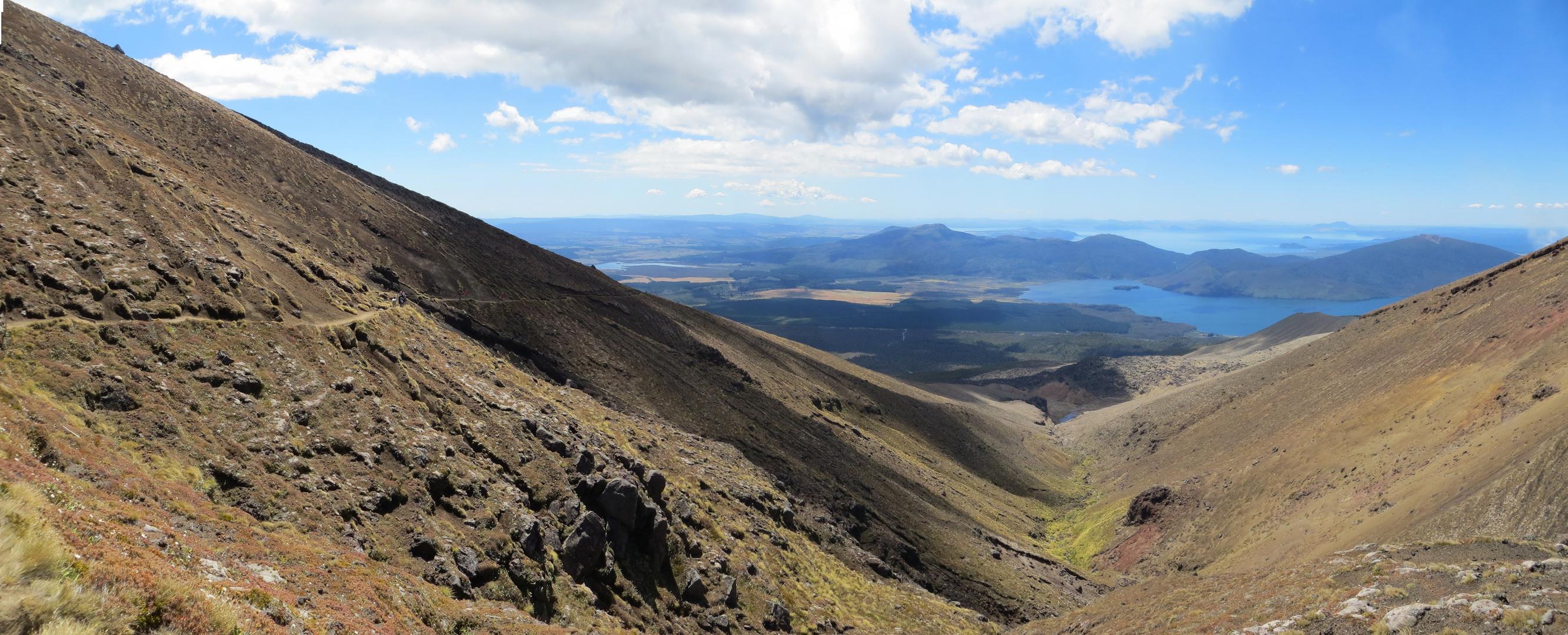 Abstieg, 1000 Höhenmeter