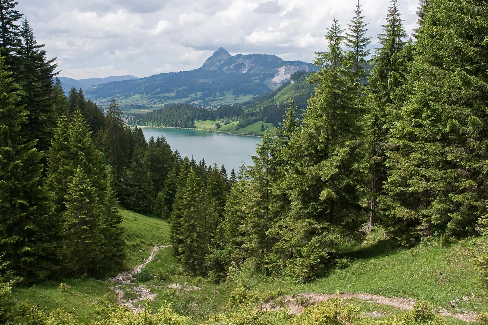 Abstieg Krinnenspitze