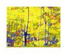abstrahierter Herbstwald