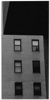 abstrakter Himmel oder Whitney Museum in New York