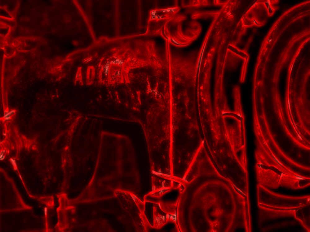 ABSTRAKTION EINER WASSERMÜHLE 03