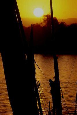 Abtakeln am Nil, Luxor