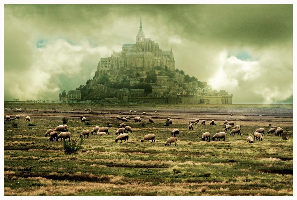 Abtei Mont Saint Michel.