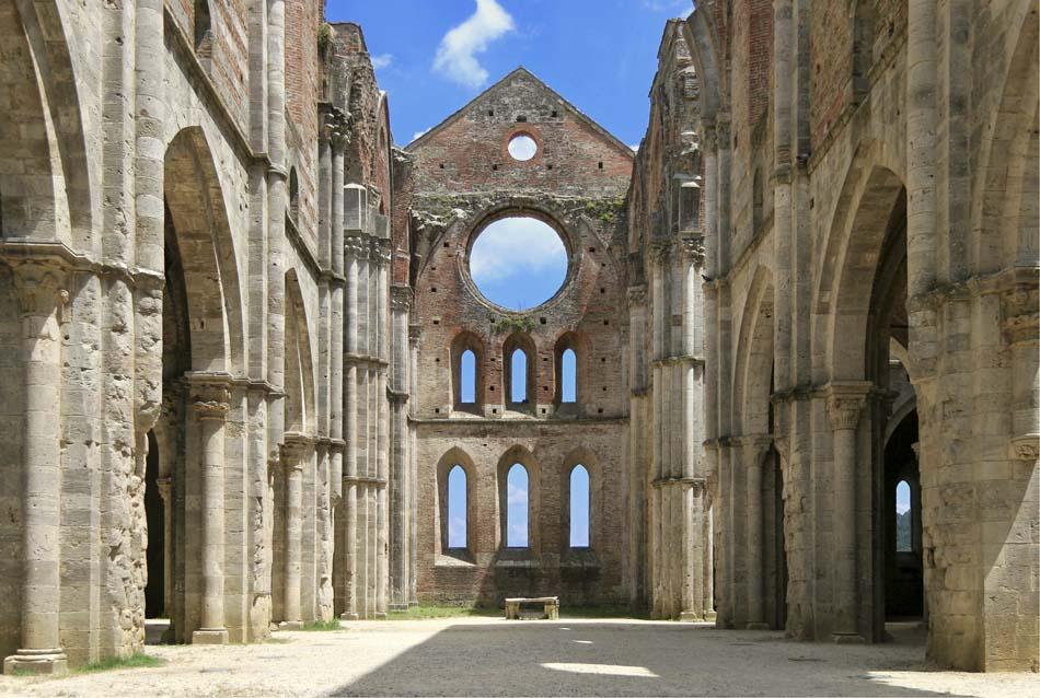 Abtei von San Galgano (Toskana)