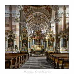 """Abteikirche St. Mauritius """" Gott zu Gefallen..."""""""