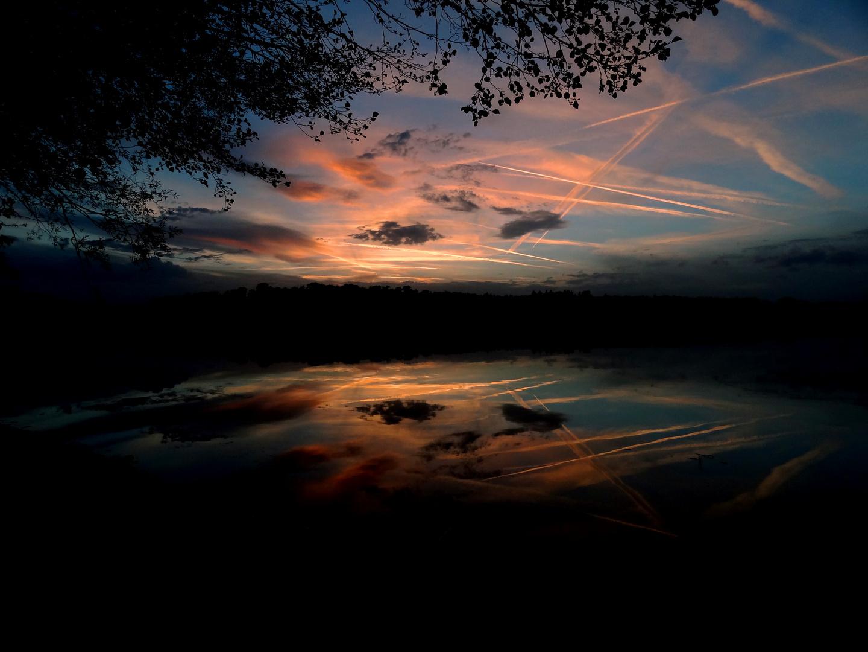 Abtsdorfer See sunset