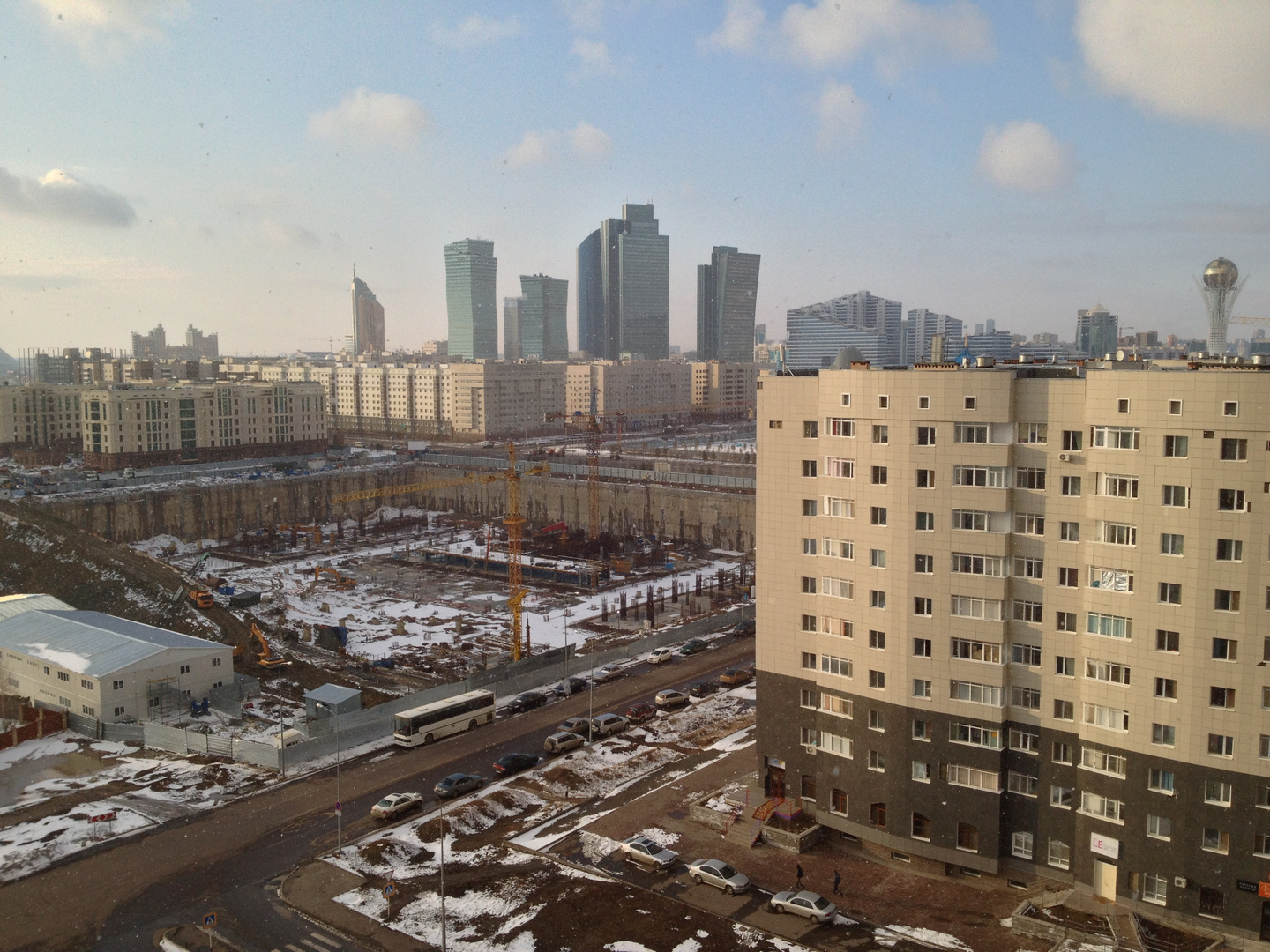 Abu Dhabi City in Astana