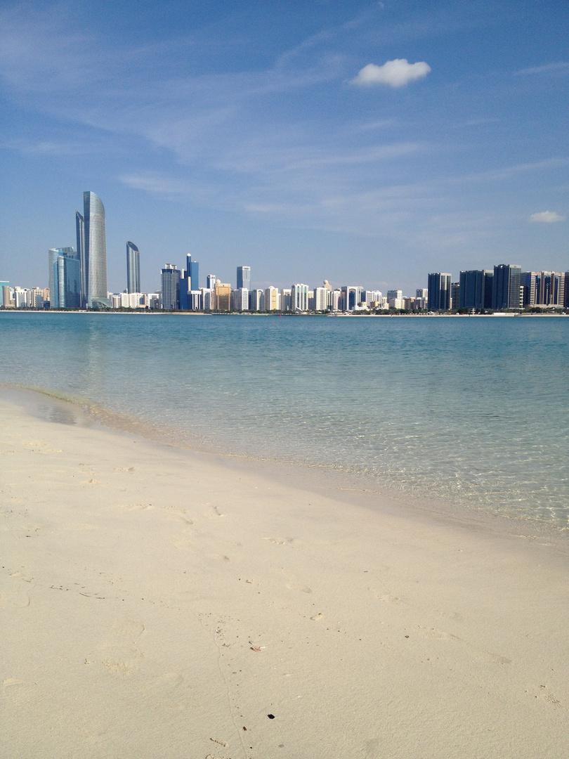 Abu Dhabi im Januar