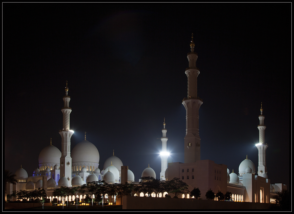 abu dhabi sheikh zayed mosque - 2013