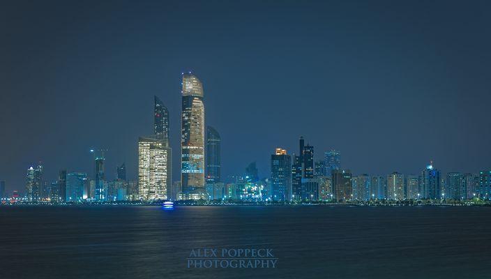 Abu Dhabi Skyline 2015
