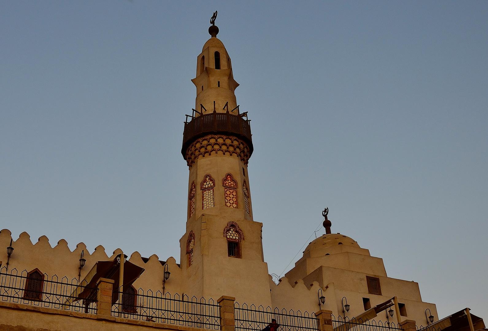 Abu el-Haggag Moschee im Luxor-Tempel