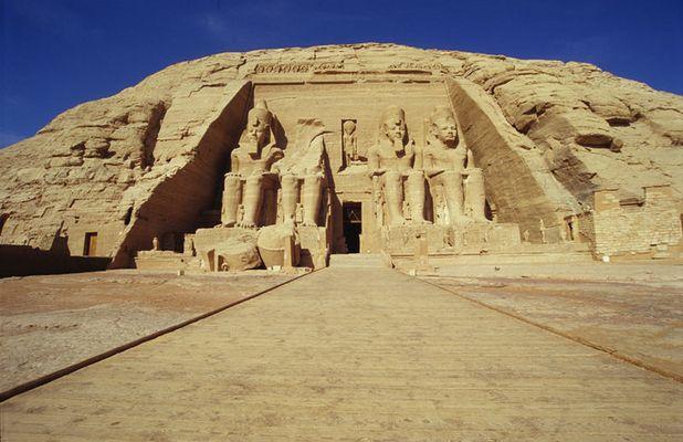 Abu Simbel - Ägypten