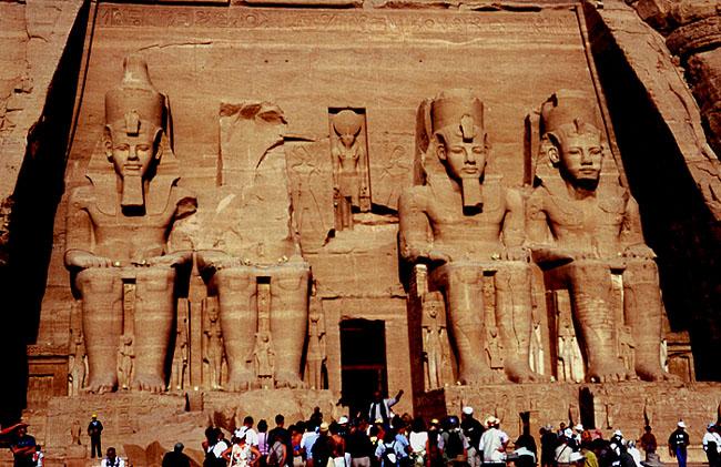 Abu Simbel - Der Ramses-Tempel