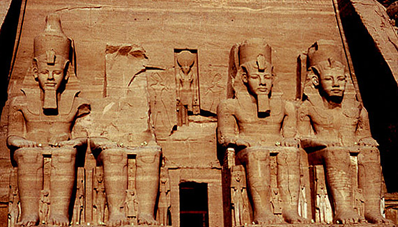 Abu Simbel - Der Ramses-Tempel - Alternativversion
