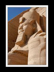 Abu Simbel, Detail