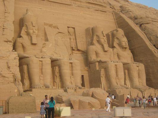 Abu Simbel . Egypte !