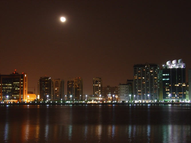 AbuDhabi at Night