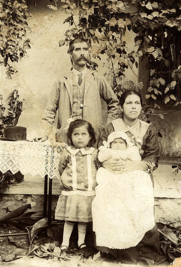 Abuelos maternos en 1917