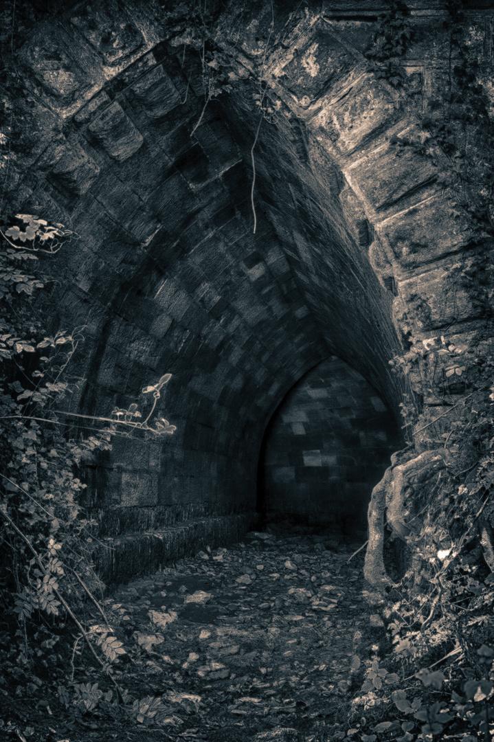 Abwasserkanal aus alten Zeiten