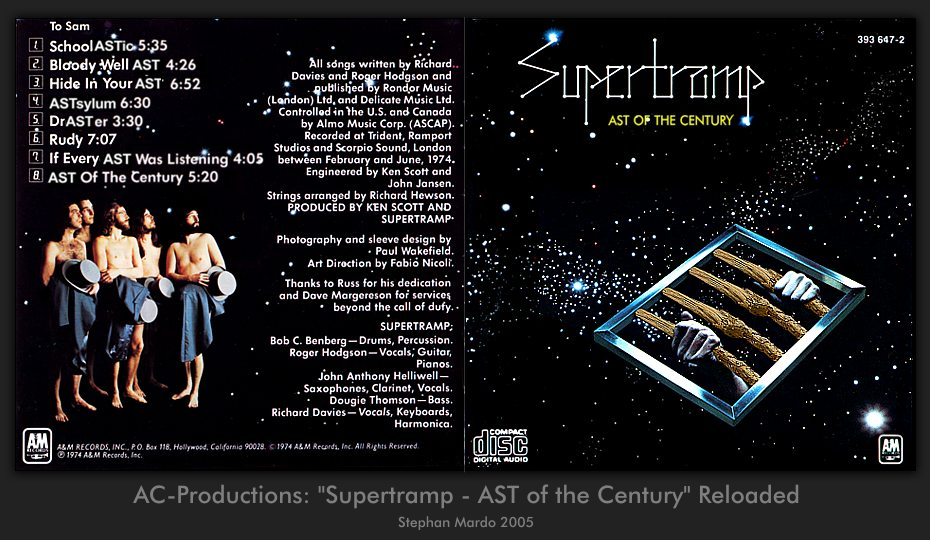 "AC-Productions ""Supertramp - AST of the century"" Reloaded"
