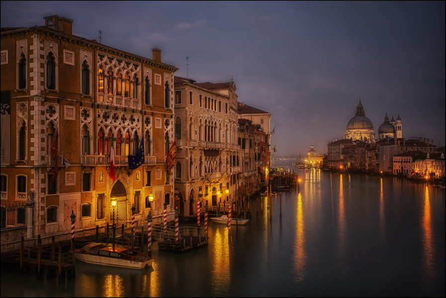Accademia night view