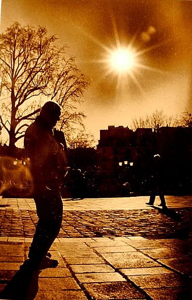 accordéon place Notre Dame ...