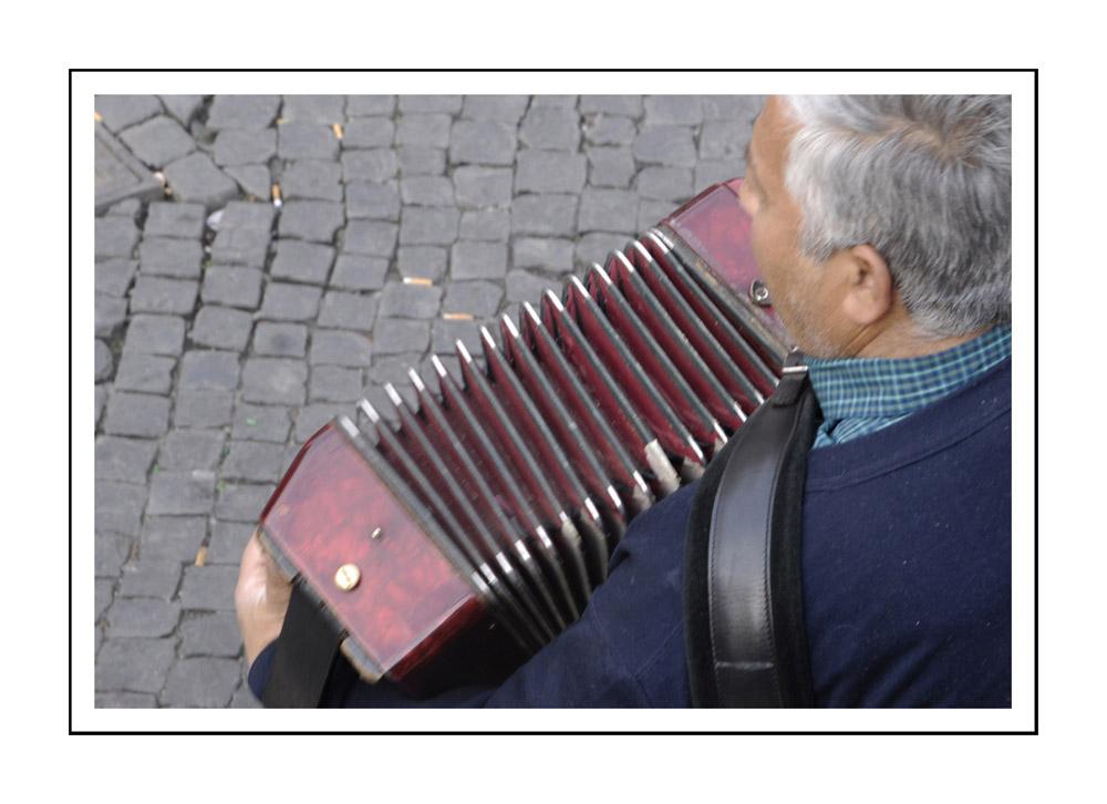 accordeoniste au Trastevere / Roma