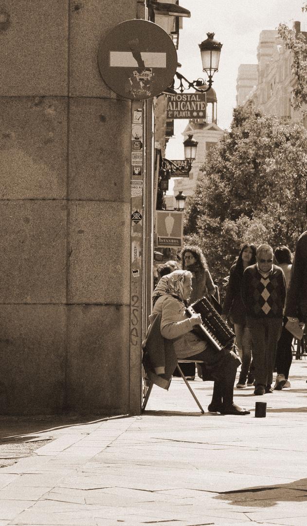 Accordeoniste de rue