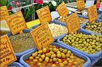 Aceitunas, Alcaparras, Cebollitas