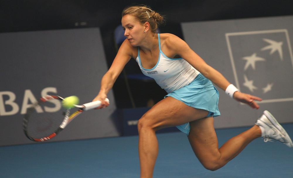 Ach ja Tennis spielte sie auch noch)