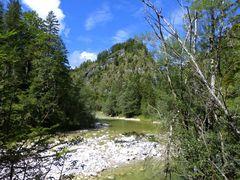 Ache in den Brandenberger Alpen