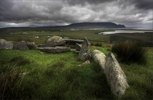 Achill Island: megalithic tomb
