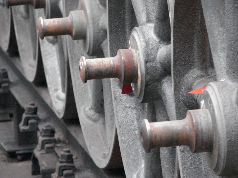 Achsen für Eisenbahnwagen
